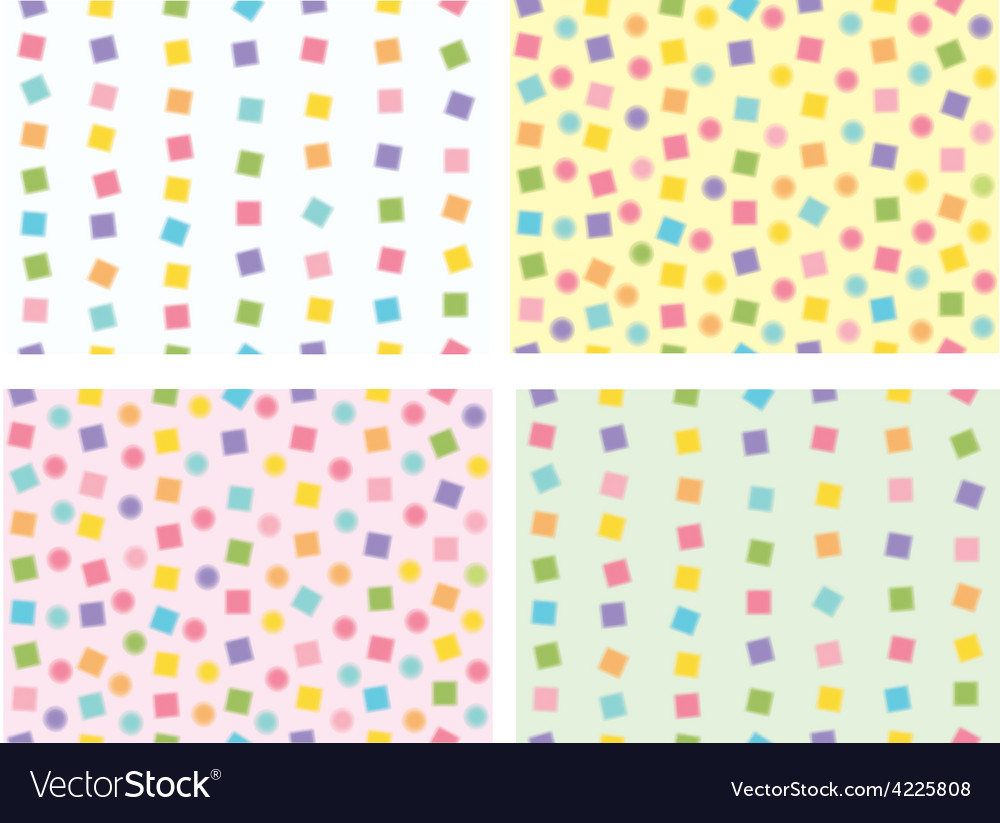 Cute patterns vector