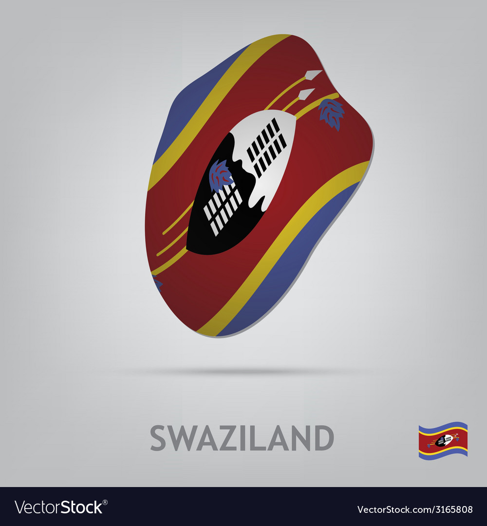 Swaziland vector | Price: 1 Credit (USD $1)