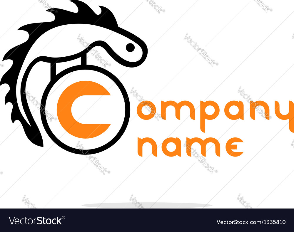 Abstract reptile logo vector | Price: 1 Credit (USD $1)