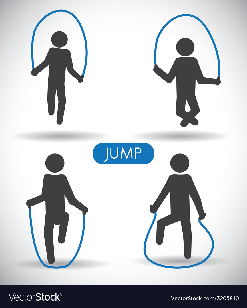 Jump design vector | Price: 1 Credit (USD $1)
