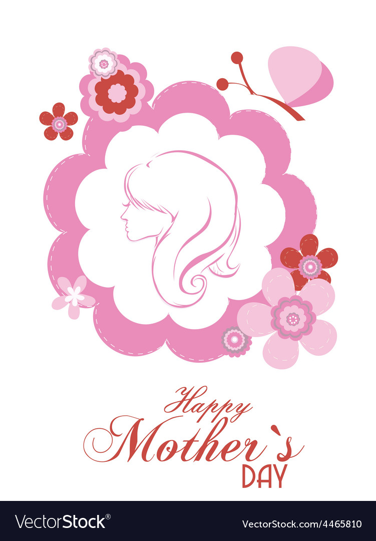 Motherss day background vector | Price: 1 Credit (USD $1)