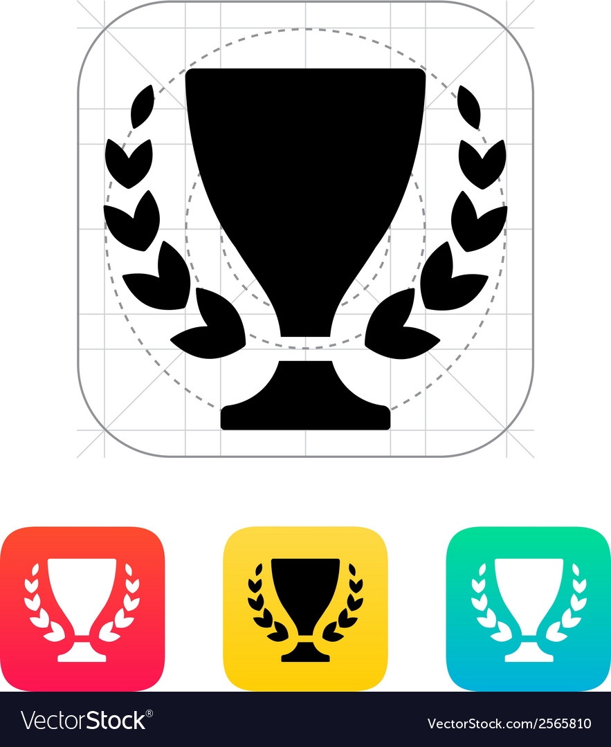 Trophy and awards icon vector | Price: 1 Credit (USD $1)