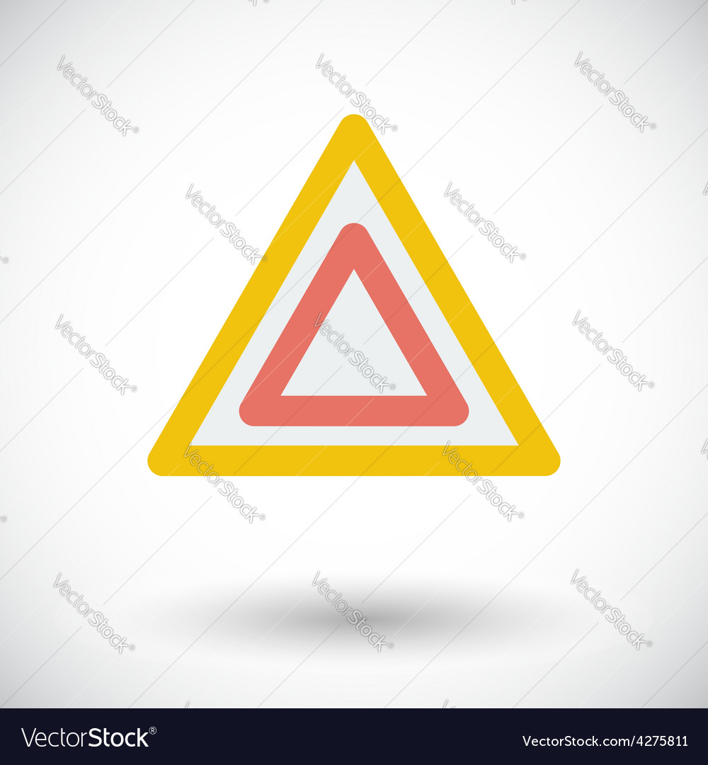 Hazard vector | Price: 1 Credit (USD $1)