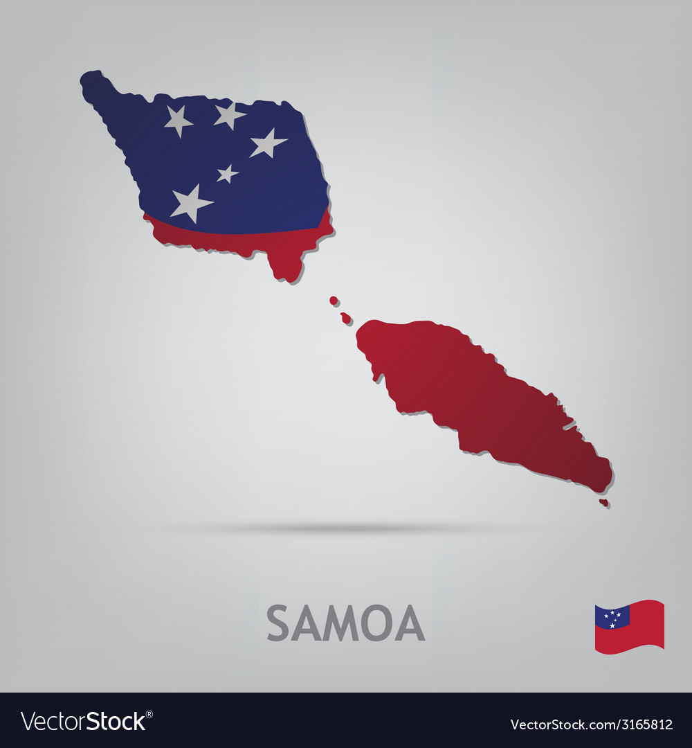 Country samoa vector | Price: 1 Credit (USD $1)