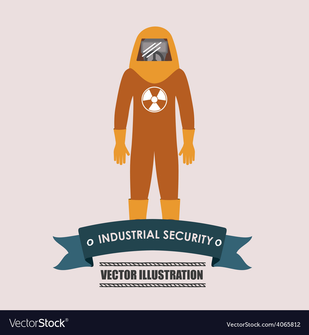 Industrial security desing vector | Price: 1 Credit (USD $1)
