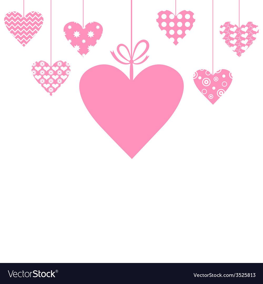 Heart hang vector | Price: 1 Credit (USD $1)