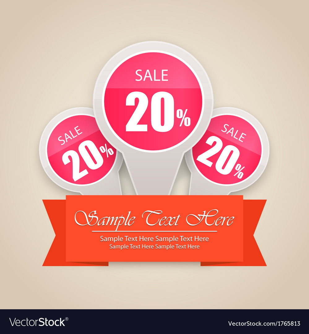 Hot sale tag background vector | Price: 1 Credit (USD $1)