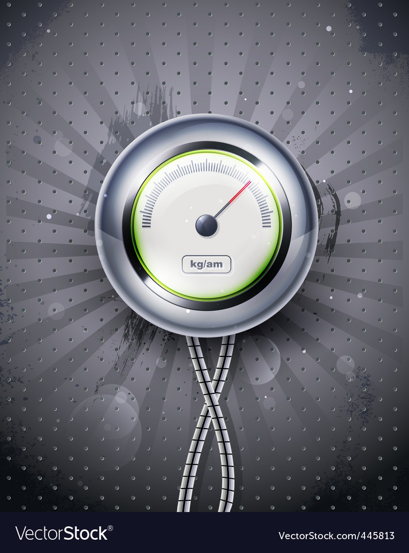 Icon speedometer or clock eps vector | Price: 3 Credit (USD $3)