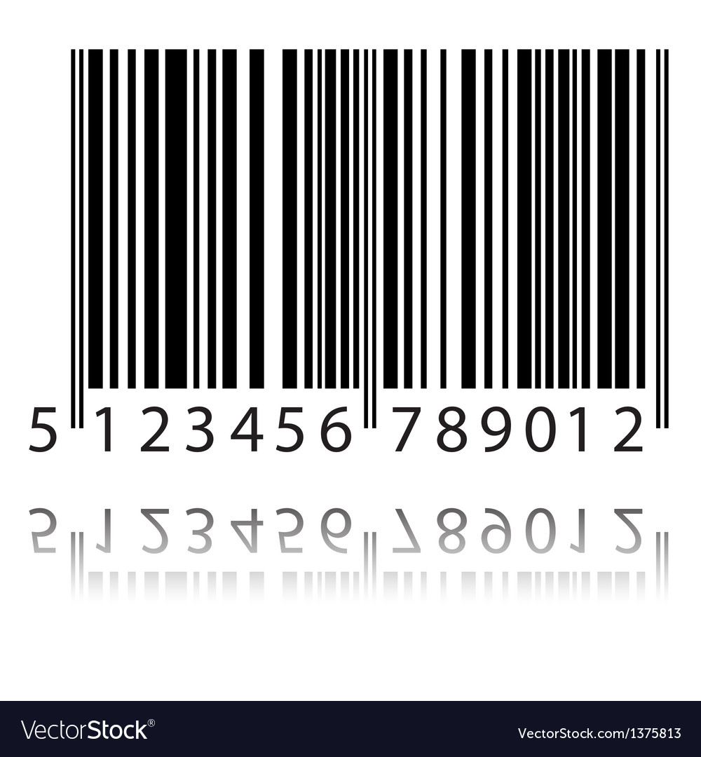 New bar code vector | Price: 1 Credit (USD $1)
