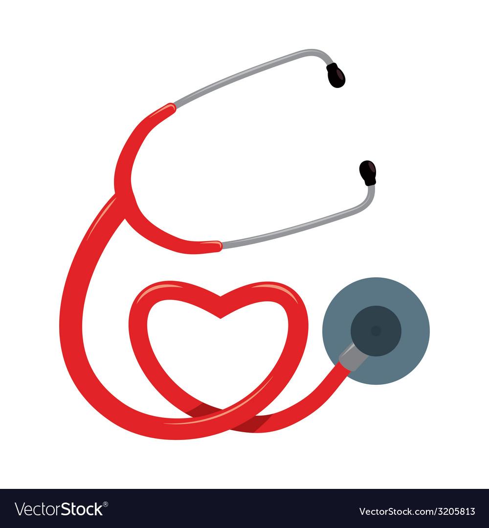 Stethoscope design vector | Price: 1 Credit (USD $1)