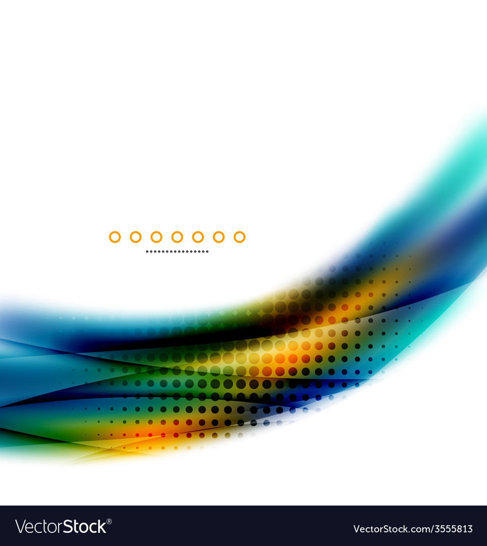 Unusual abstract background - blurred wave vector | Price: 1 Credit (USD $1)
