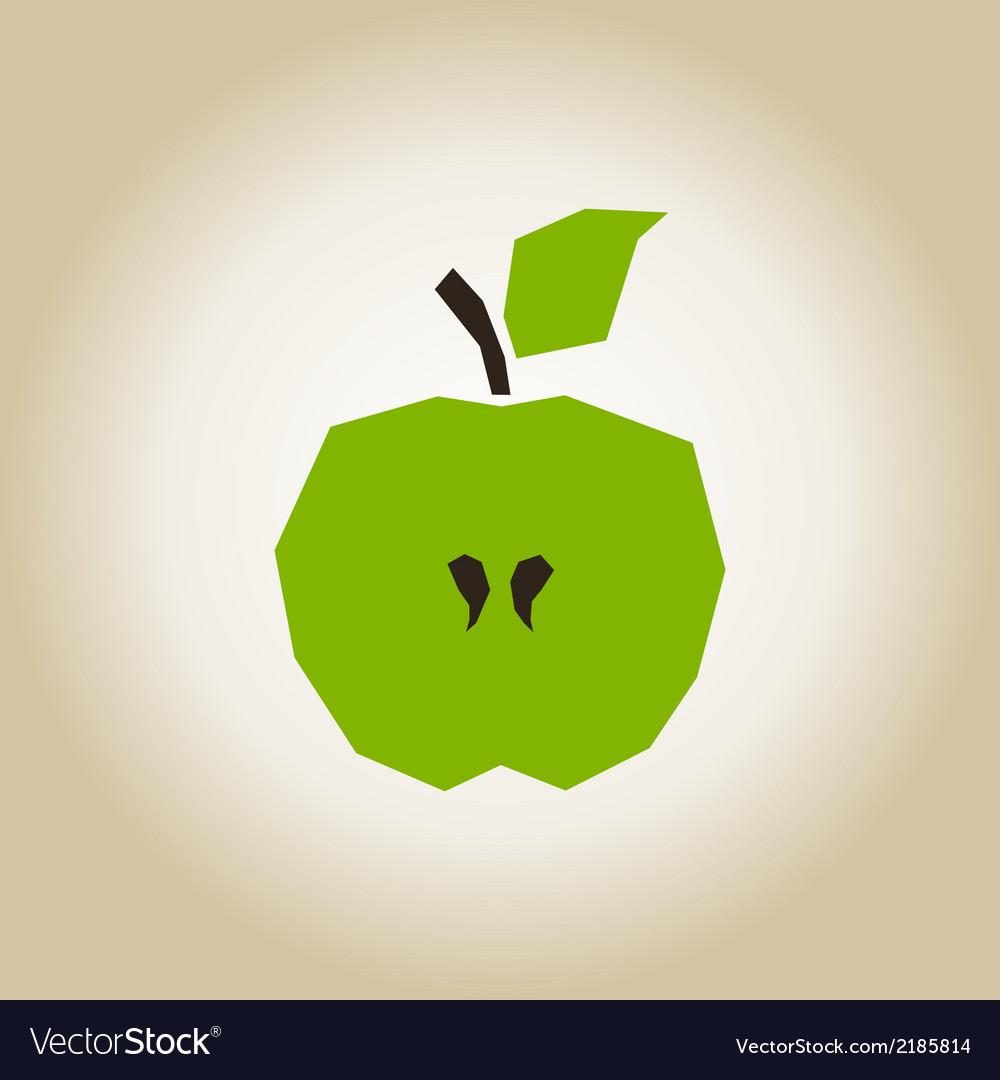 Apple broken vector | Price: 1 Credit (USD $1)