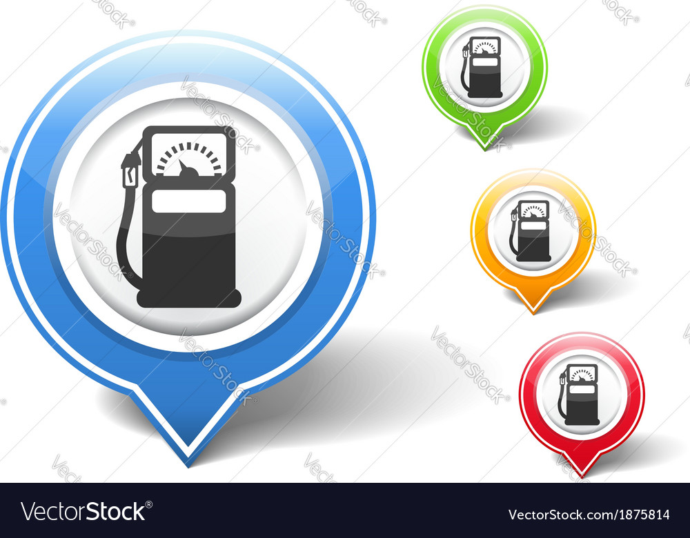 Gas station icon vector | Price: 1 Credit (USD $1)