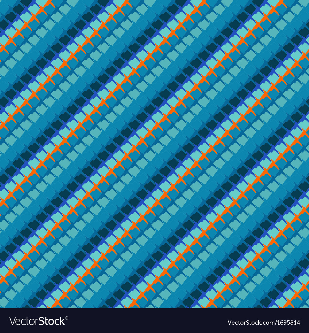 Geometric linear stiched pattern vector | Price: 1 Credit (USD $1)