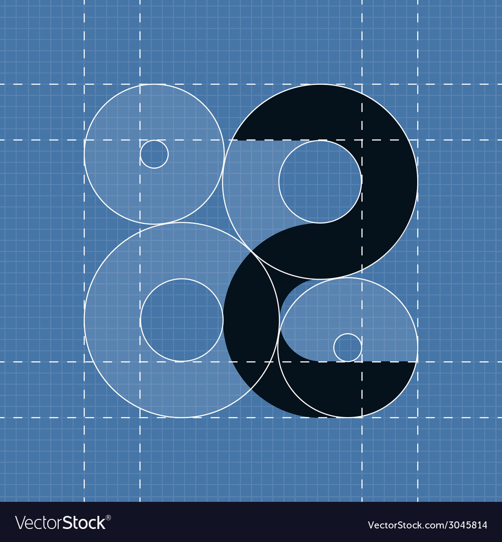 Round engineering font symbol 2 vector | Price: 1 Credit (USD $1)