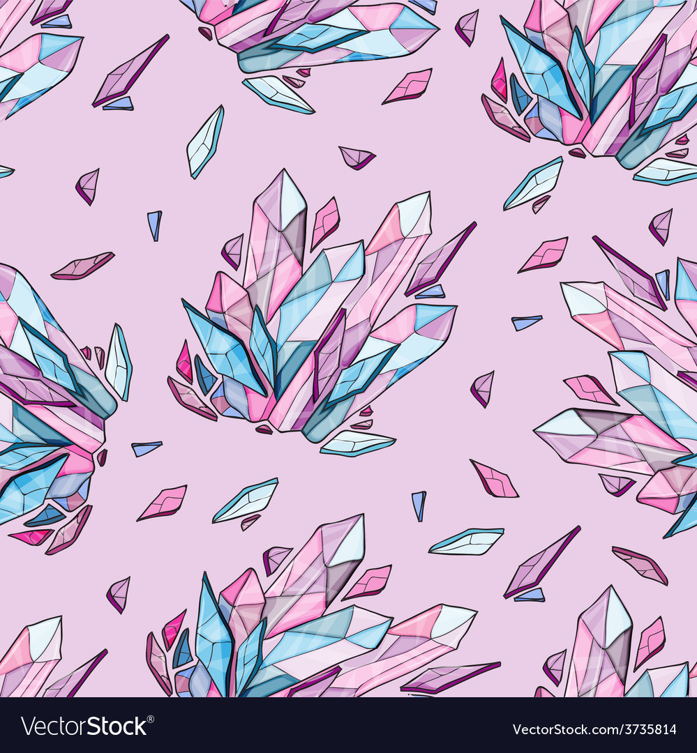 Seamless background of diamonds vector | Price: 1 Credit (USD $1)