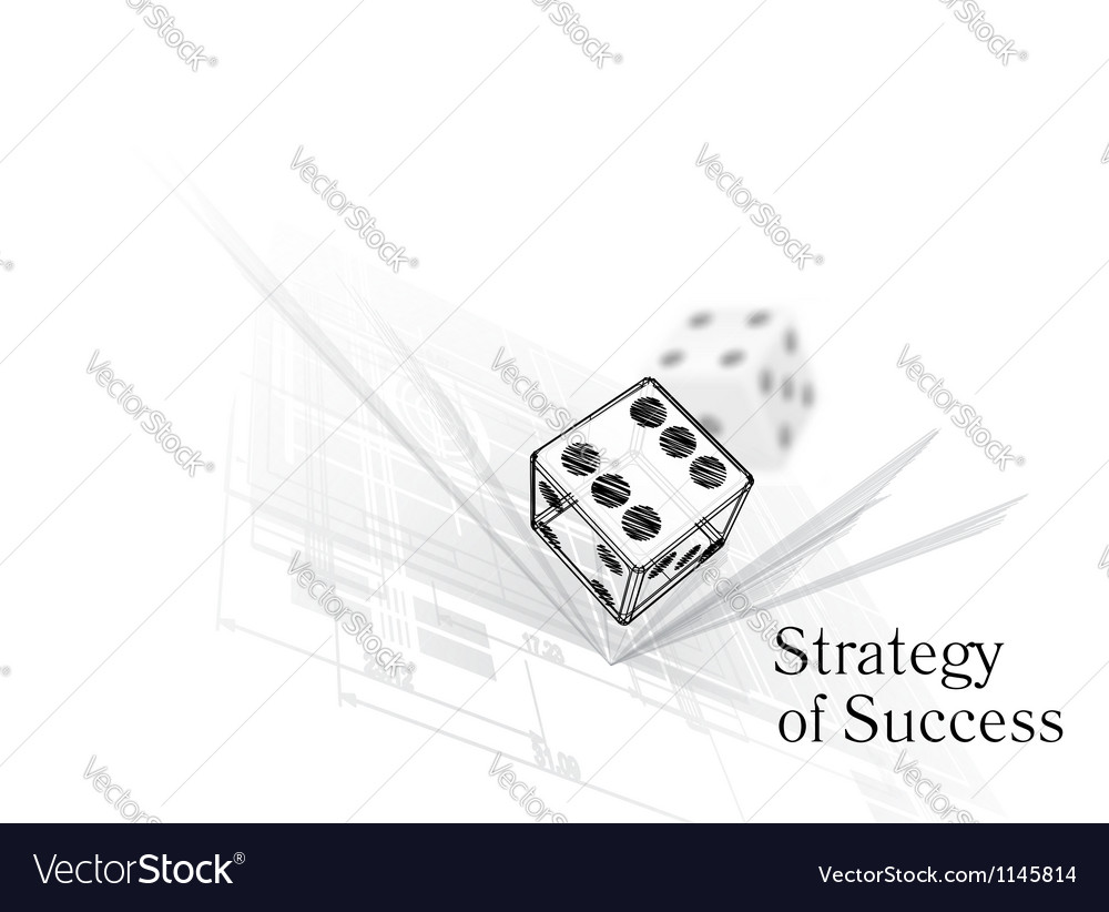 Strategy for success vector | Price: 1 Credit (USD $1)
