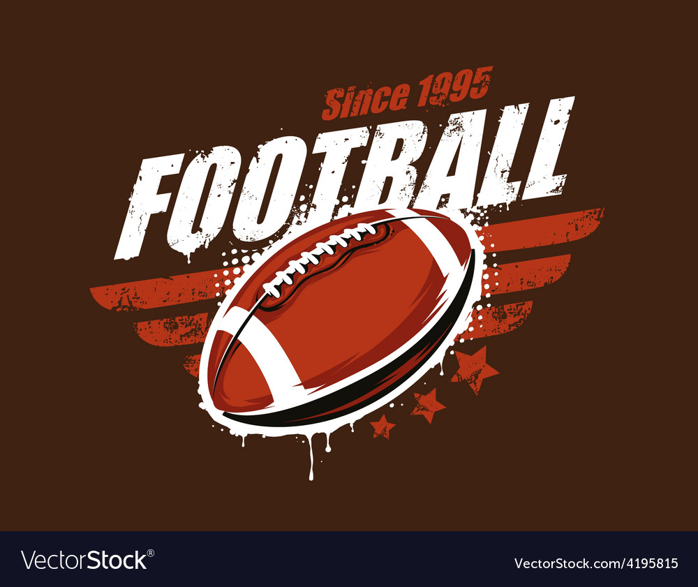 Football art vector | Price: 1 Credit (USD $1)