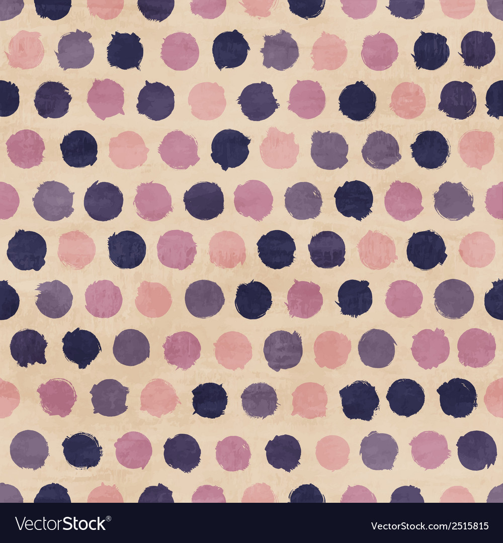 Funky retro seamless pattern vector | Price: 1 Credit (USD $1)