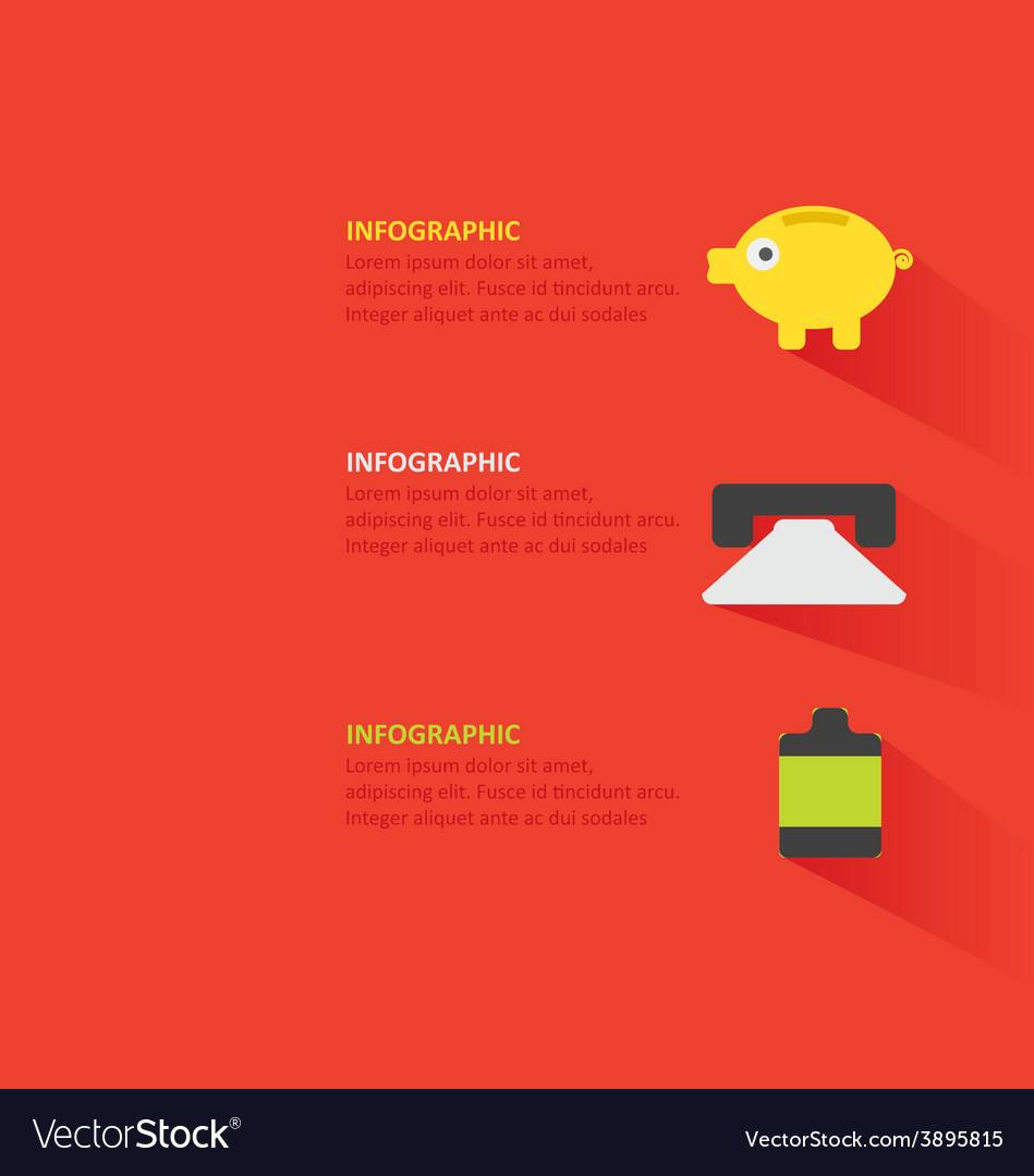 Infographic 348 vector