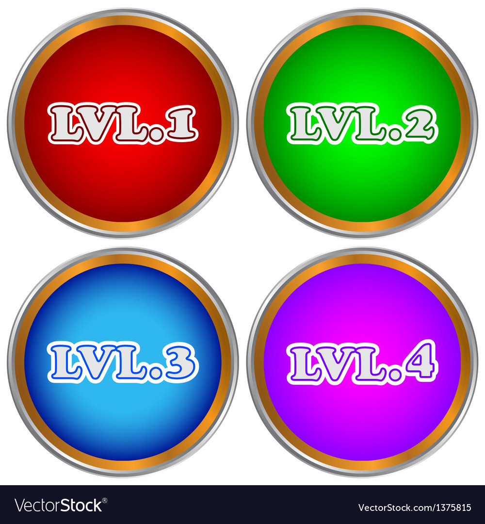Level set vector | Price: 1 Credit (USD $1)