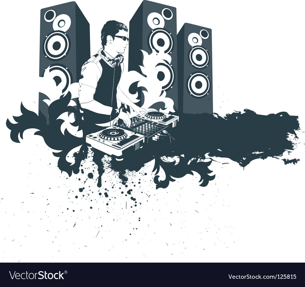 Modern dj vector | Price: 3 Credit (USD $3)