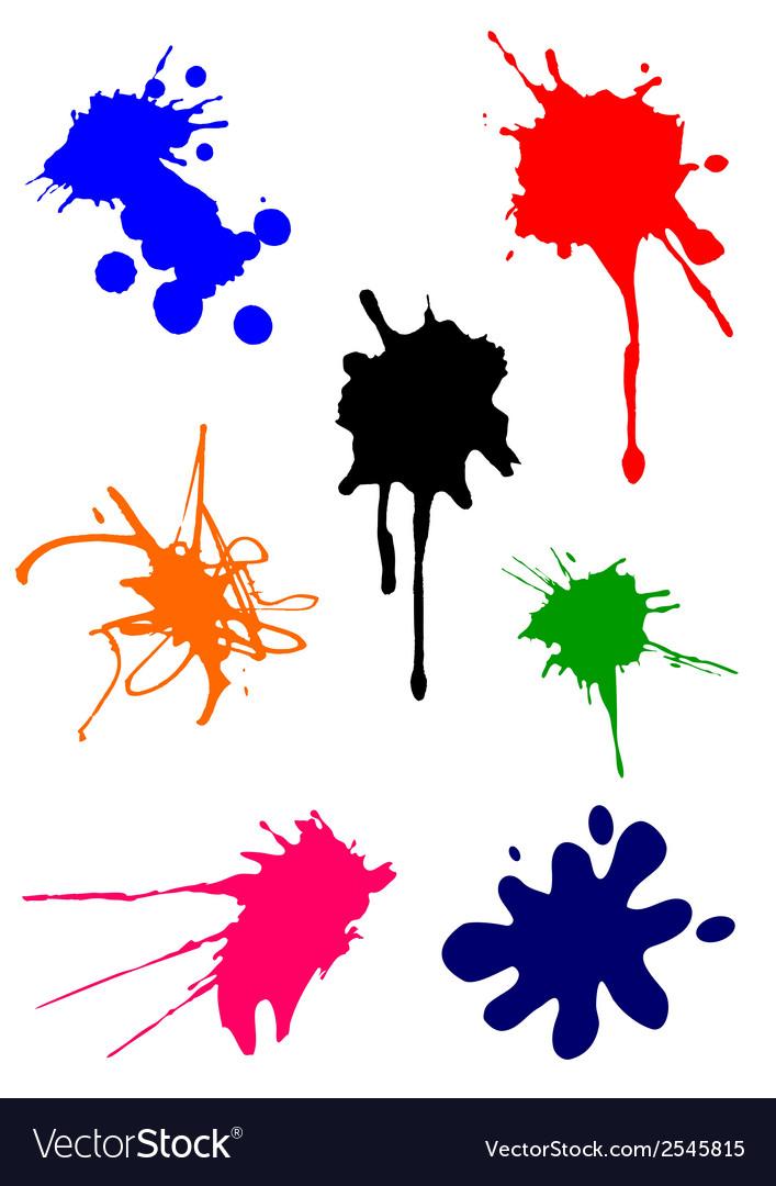 Spots splash vector | Price: 1 Credit (USD $1)