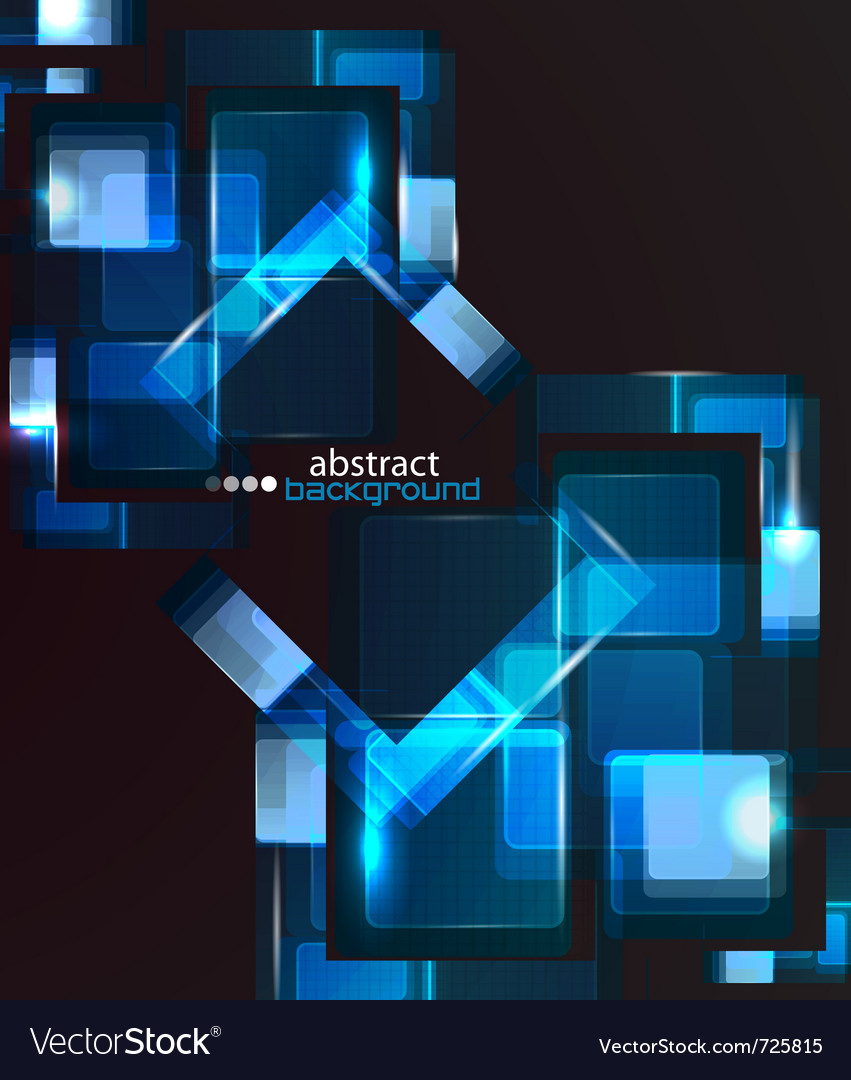 Techno abstract background vector