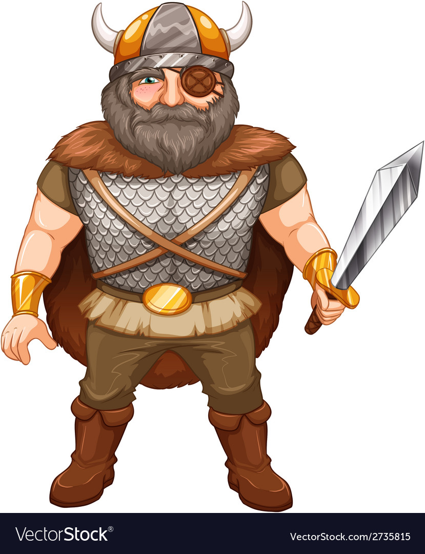 Viking warrior vector | Price: 1 Credit (USD $1)
