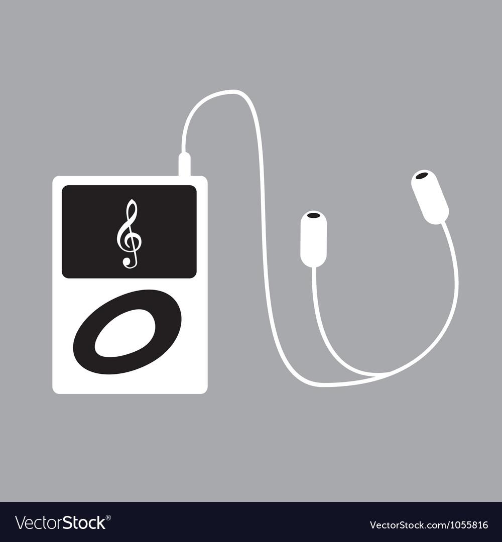 Ipod music vector | Price: 1 Credit (USD $1)