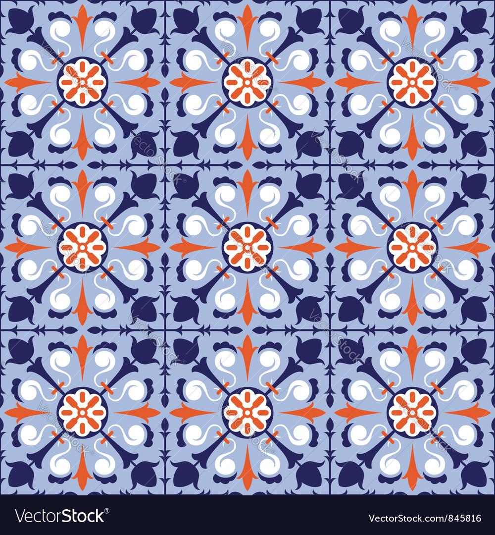 Seamless arabic tiles vector | Price: 1 Credit (USD $1)