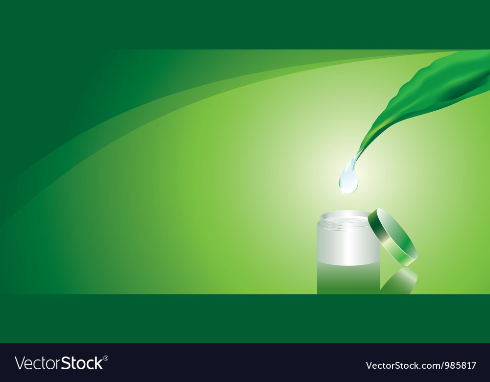 Green background with cream vector | Price: 1 Credit (USD $1)