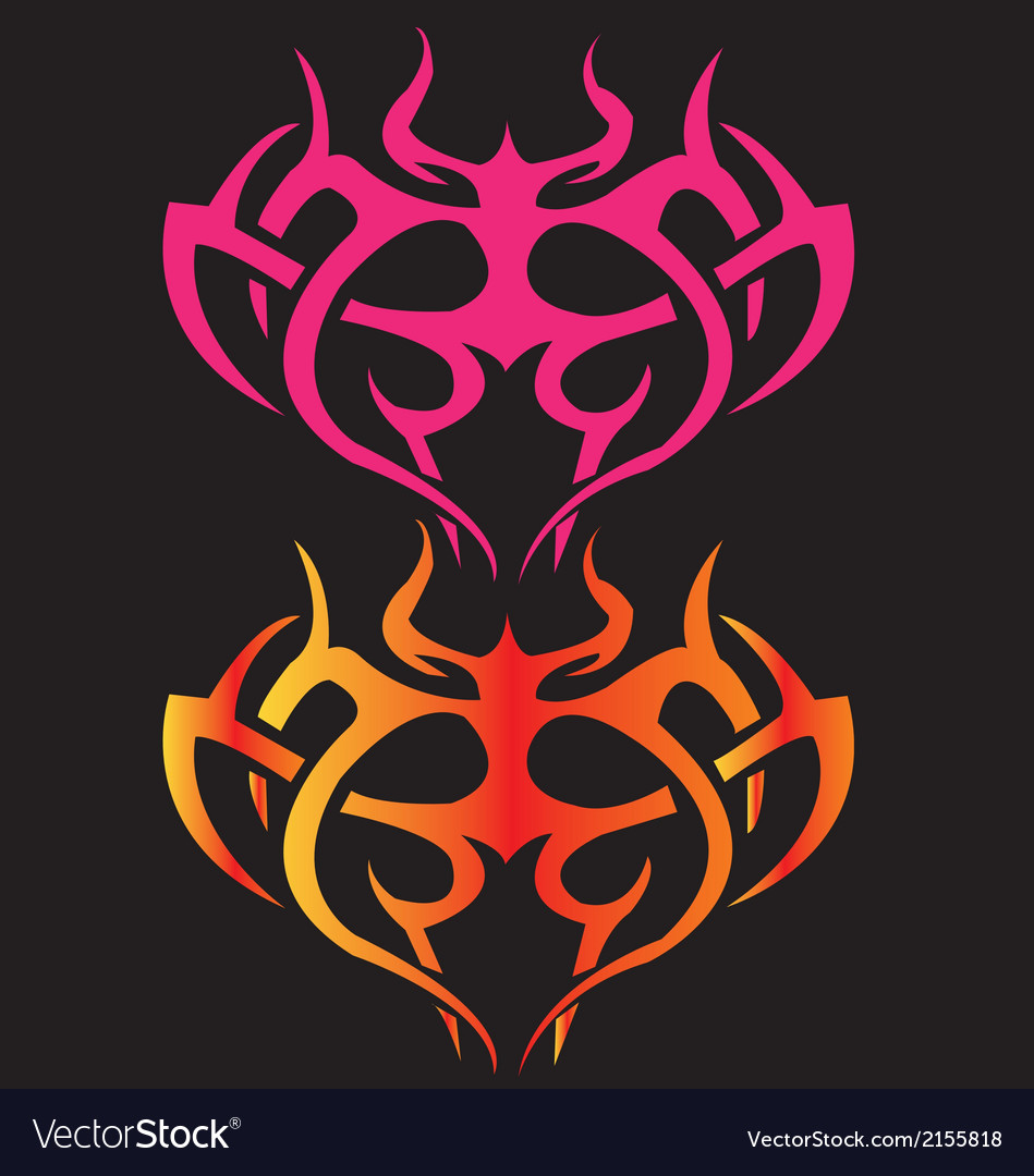Black sider abstract background tattoo vector | Price: 1 Credit (USD $1)