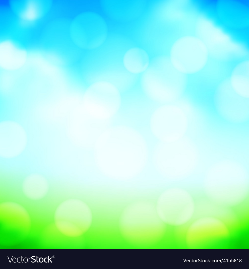 Blured spring background vector | Price: 1 Credit (USD $1)