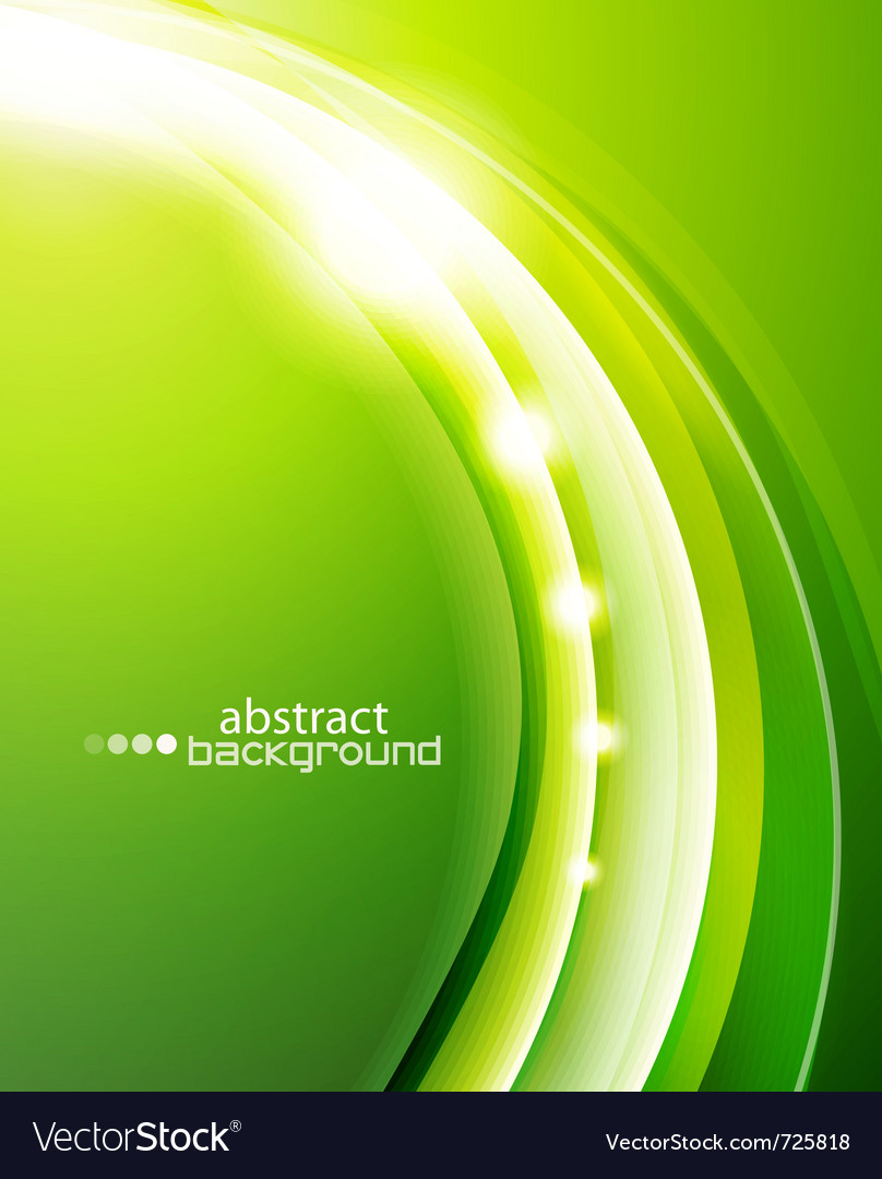 Green wave background vector | Price: 1 Credit (USD $1)