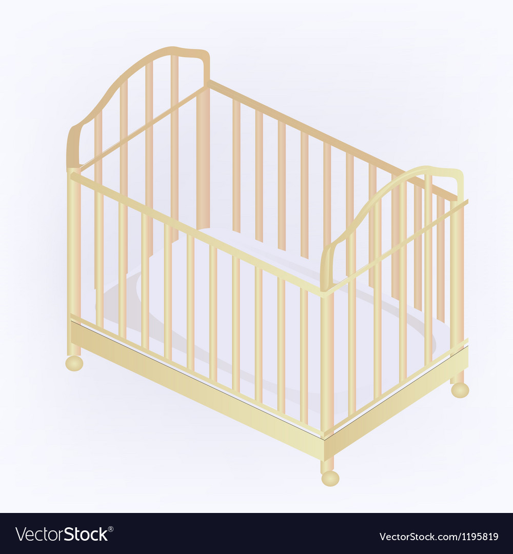 Crib vector | Price: 1 Credit (USD $1)