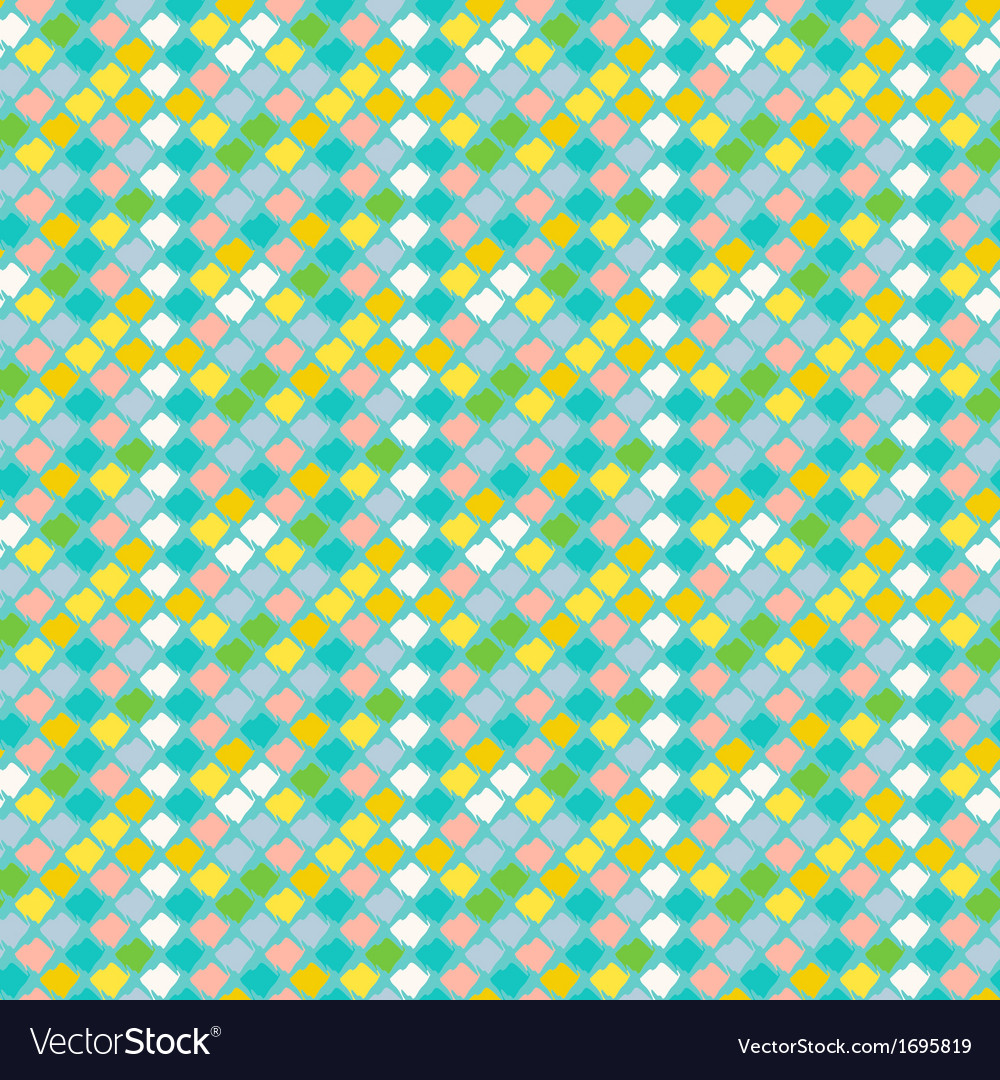 Geometric pattern in spring colors vector | Price: 1 Credit (USD $1)