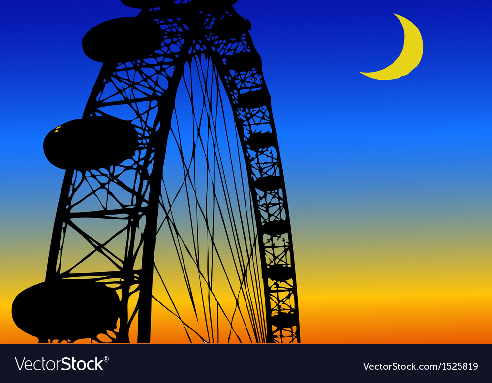 Luna park amusement park vector | Price: 1 Credit (USD $1)
