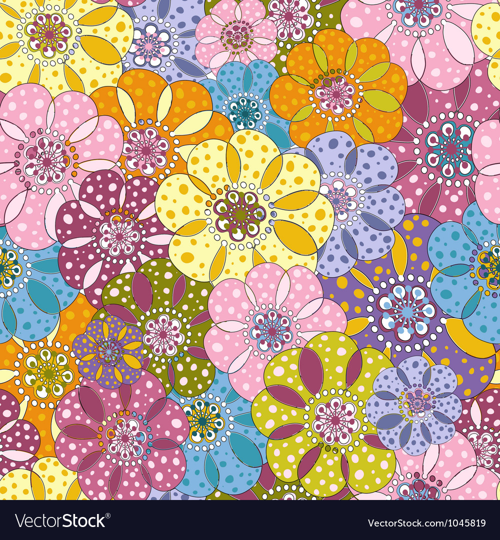 Spotty vivid pattern vector | Price: 1 Credit (USD $1)