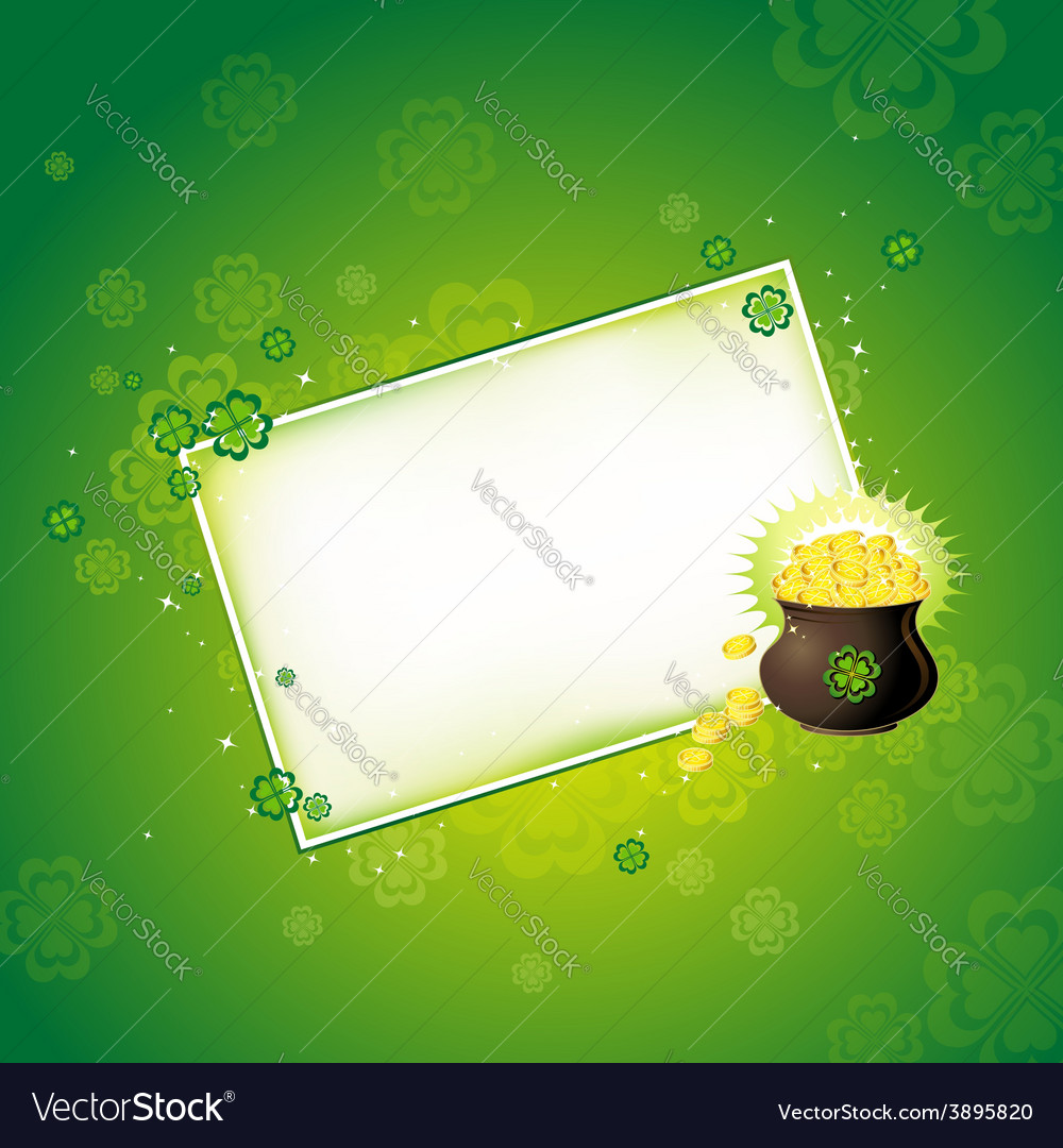 Background for st patricks day vector   Price: 1 Credit (USD $1)