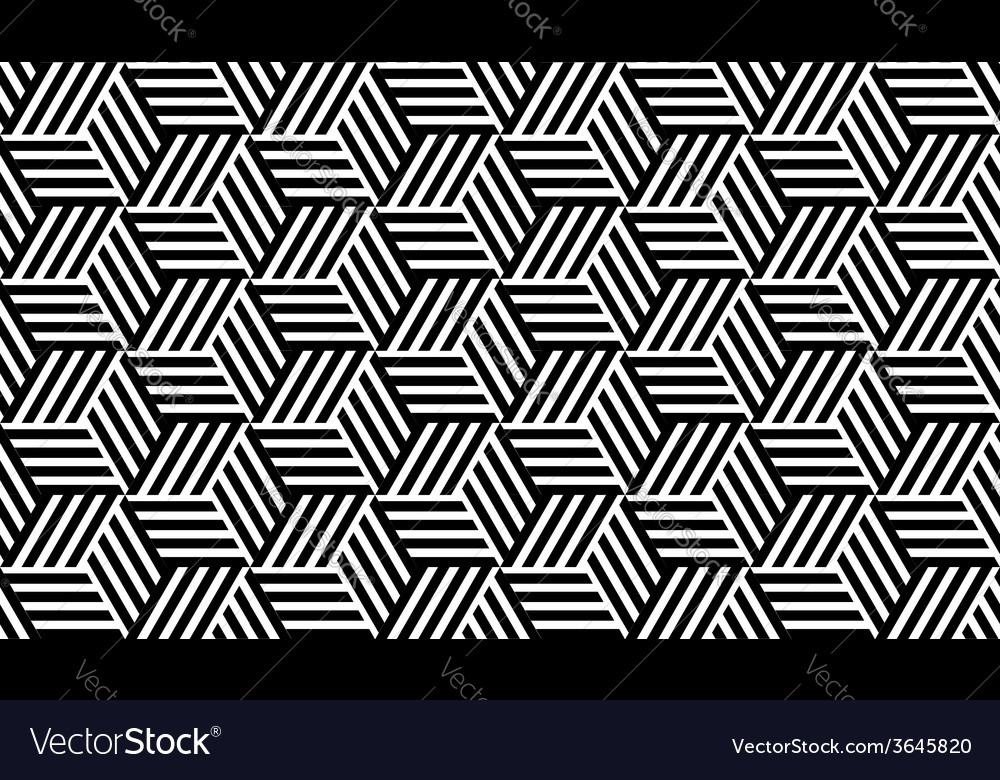 Black and white geometric pattern vector   Price: 1 Credit (USD $1)