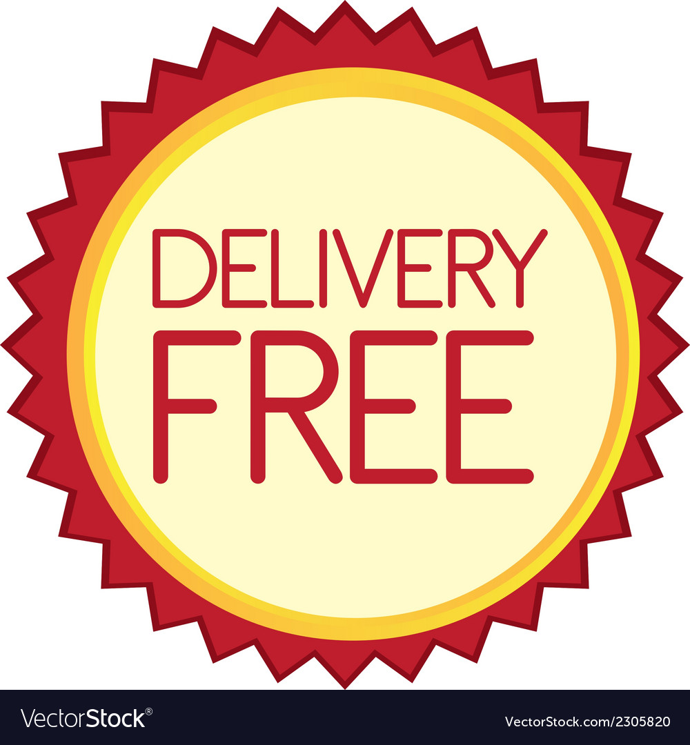 Delivery free tag vector | Price: 1 Credit (USD $1)