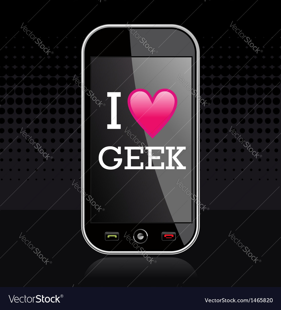 I love geek vector   Price: 1 Credit (USD $1)