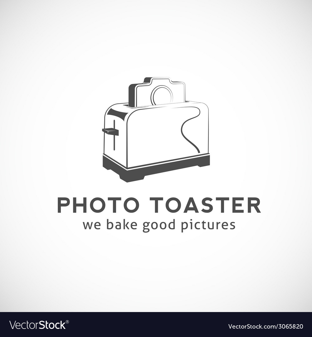 Photo toaster abstract logo template vector | Price: 1 Credit (USD $1)