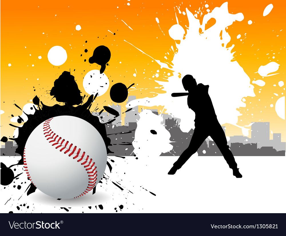 Graffiti baseball vector | Price: 1 Credit (USD $1)