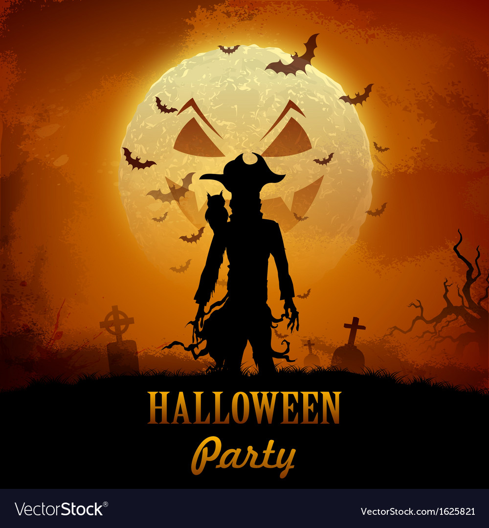 Halloween ghost vector | Price: 1 Credit (USD $1)