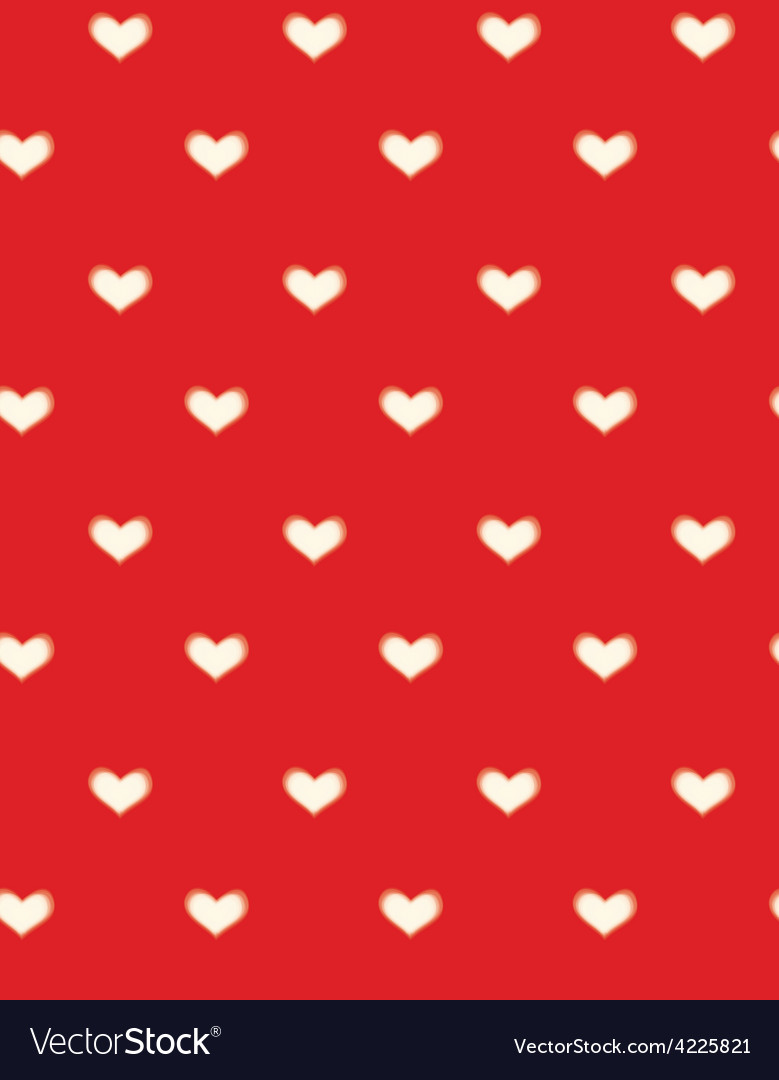 Red heart background vector | Price: 1 Credit (USD $1)