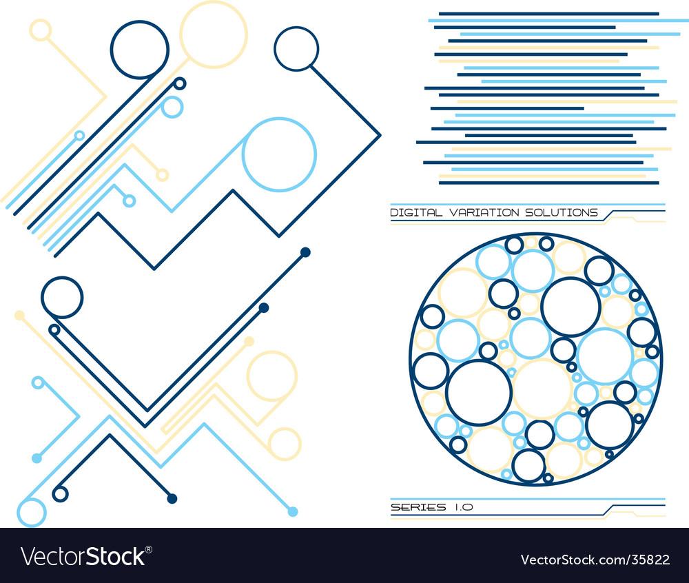 Digital solutions vector | Price: 1 Credit (USD $1)