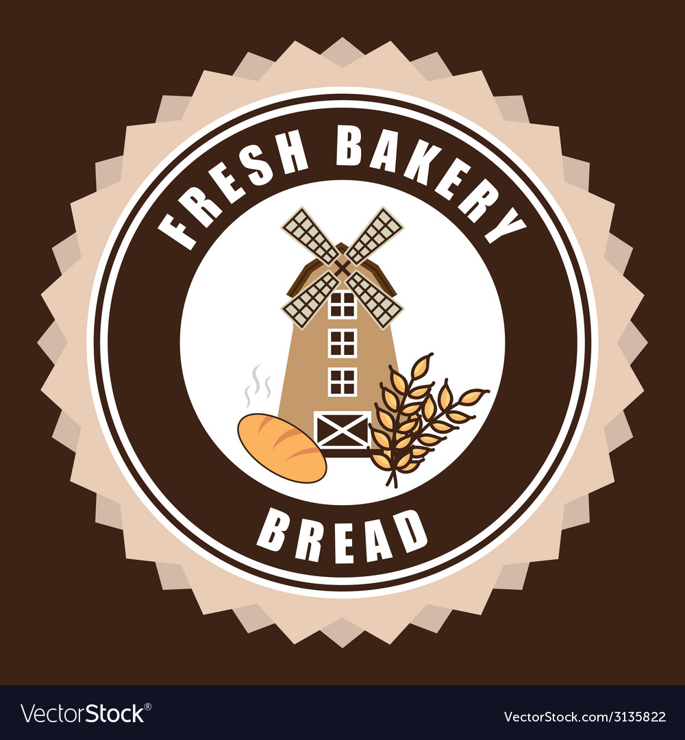 Mill bakery design vector   Price: 1 Credit (USD $1)