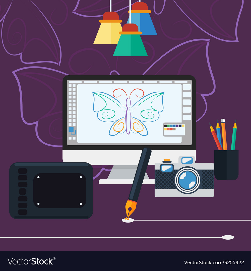 Program for design and architecture vector | Price: 1 Credit (USD $1)